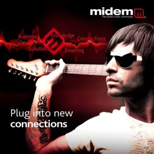 MIDEM 2010 campaign image