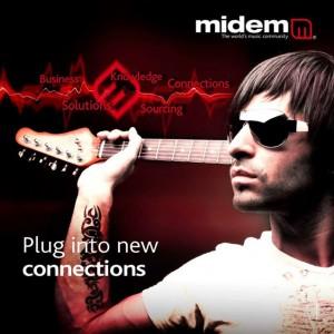 MIDEM 2010 campaign image