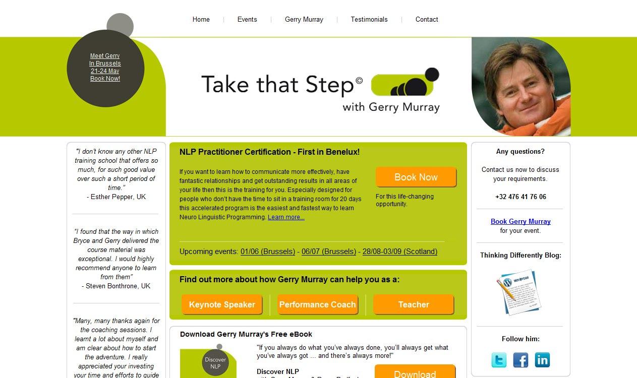 Gerry Murray website