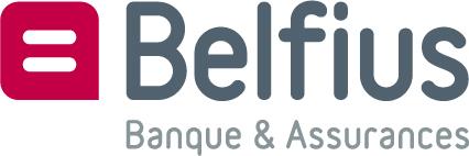 Belfius brnad name logo