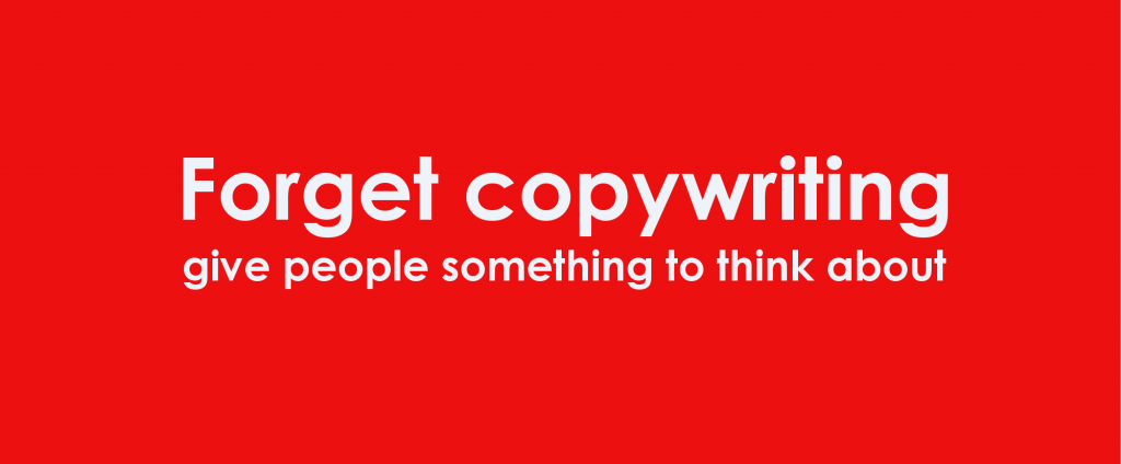 The Write Stuff copywriting slogan