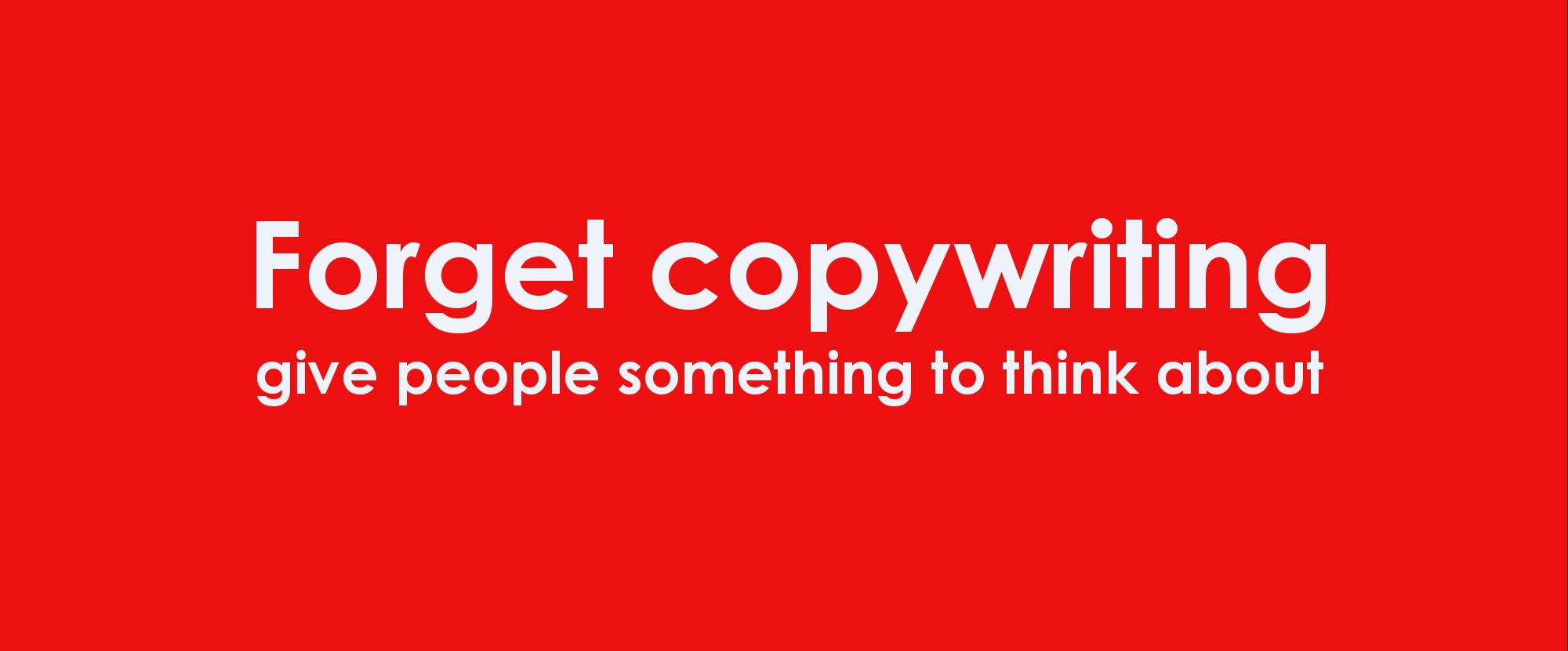The Write Stuff copywriting slogan